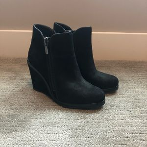 Vince Camuto Jeffers Suede Wedge Bootie